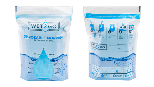 Mopp-Tränkungsbeutel, 1 bis 10 Mopps (bis 1000 ml)